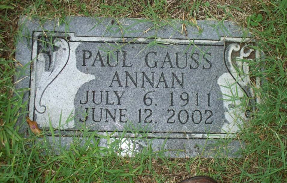 ANNAN, Paul Gauss (1911 - 2002)-GM.jpg